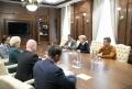 ZINAIDA GRECEANII S-A INTILNIT CU REPREZENTANTII UNIUNII INTERNATIONALE A NOTARILOR