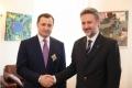 """Liderul PLDM a fost decorat cu Ordinul României """"Serviciul Credincios"""""""