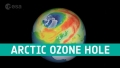 Gaura in stratul de ozon de la Polul Nord este de trei ori mare decit Groenlanda