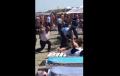 Panica pe plaja din Mamaia, Romania!