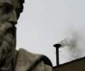 Fum negru la Vatican