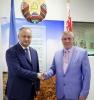"PRESEDINTELE REPUBLICII MOLDOVA A EFECTUAT O VIZITA LA INTREPRINDEREA ""BELKOMMUNMAS"""
