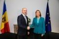 FEDERICA MOGHERINI, IN DIALOG CU PAVEL FILIP: R. MOLDOVA POATE MIZA PE SUSTINEREA DEPLINA A UE IN MODERNIZAREA TARII