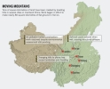 CHINA PUNE LA PAMINT MUNTI INTREGI, IAR CERCETATORII SINT INGRIJORAŢI