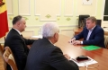 PRESEDINTELE R. MOLDOVA, IGOR DODON, A AVUT O INTREVEDERE CU OLEG HORJAN