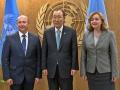 VALERIU STRELET S-A INTILNIT CU SECRETARUL GENERAL AL ONU