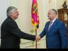 PRESEDINTELE REPUBLICII MOLDOVA A AVUT O INTREVEDERE CU AMBASADORUL UNGARIEI