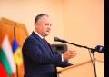 PRESEDINTELE TARII A PARTICIPAT LA CEREMONIA DE SEMNARE A ACORDULUI DE CREARE A UNUI CONSORTIU INTERNATIONAL INTRE UNIVERSITATEA DE STAT DIN TARACLIA SI DOUA UNIVERSITATI DIN BULGARIA