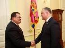 PRESEDINTELE TARII A AVUT O INTREVEDERE CU SEFUL DELEGATIEI UE IN REPUBLICA MOLDOVA