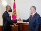 PRESEDINTELE REPUBLICII MOLDOVA A AVUT O INTREVEDERE CU AMBASADORUL STATELOR UNITE ALE AMERICII