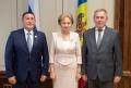 PRESEDINTELE PARLAMENTULUI A AVUT O INTREVEDERE CU OFICIALI DIN REPUBLICA BASCHIRIA, FEDERATIA RUSA