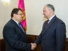 PRESEDINTELE TARII A AVUT O INTREVEDERE CU SEFUL DELEGATIEI UNIUNII EUROPENE IN REPUBLICA MOLDOVA