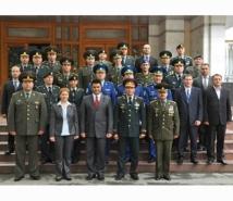 LA MINISTERUL APĂRĂRII A FOST MARCATĂ ZIUA INTERNAŢIONALĂ A TRUPELOR ONU