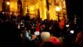 """A treia noapte consecutiva de proteste la Budapesta impotriva asa-numitei legi a """"sclaviei"""""""