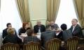 SEFUL STATULUI A AVUT O INTREVEDERE CU MEMBRII COMISIEI PENTRU MASS-MEDIA SI COMUNICARE A CONSILIULUI SOCIETATII CIVILE PE LINGA PRESEDINTELE R. MOLDOVA