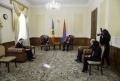 PRESEDINTELE PARLAMENTULUI A AVUT O INTREVEDERE CU PRESEDINTELE ADUNARII NATIONALE A REPUBLICII ARMENIA