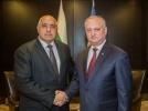 PRESEDINTELE R. MOLDOVA A AVUT O INTREVEDERE CU PRIM-MINISTRUL REPUBLICII BULGARIA