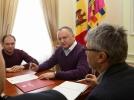PRESEDINTELE REPUBLICII MOLDOVA A DISPUS UN SET DE ACTIUNI CU PRIVIRE LA LICHIDAREA CONSECINTELOR CALAMITATILOR NATURALE
