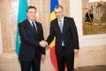 PREMIERUL ION CHICU A DISCUTAT CU PRIM-MINISTRUL REPUBLICII KAZAHSTAN, ASKAR MAMIN