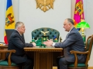 MARELE MAESTRU INTERNATIONAL RUS DE SAH, ANATOLII KARPOV, EFECTUEAZA O VIZITA IN MOLDOVA LA INVITATIA PRESEDINTELUI TARII