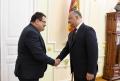 PRESEDINTELE IGOR DODON S-A INTILNIT CU SEFUL DELEGATIEI UE IN R. MOLDOVA SI SEFUL ADJUNCT AL MISIUNII DIPLOMATICE A SUA IN TARA NOASTRA