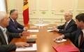 IGOR DODON, PRESEDINTELE REPUBLICII MOLDOVA A AVUT O INTREVEDERE CU AMBASADORUL FEDERATIEI RUSE IN REPUBLICA MOLDOVA, FARIT MUHAMETSIN