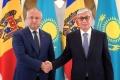 PRESEDINTELE KAZAHSTANULUI L-A FELICITAT PE IGOR DODON CU PRILEJUL ANIVERSARII ZILEI SALE DE NASTERE