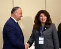 PRESEDINTELE TARII A AVUT LA ISTANBUL O INTREVEDERE CU VICE-PRESEDINTELE BULGARIEI, ILIANA IOTOVA