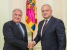 PRESEDINTELE R. MOLDOVA A AVUT O INTREVEDERE CU AMBASADORUL R. TURCIA IN TARA NOASTRA