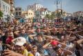 Ciocniri intre Politie si migranti pe insula greaca Lesbos