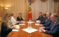 PRESEDINTELE R. MOLDOVA A AVUT O INTREVEDERE CU AMBASADOAREA REGATULUI MARII BRITANII IN MOLDOVA