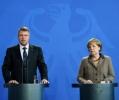 IOHANNIS: GERMANIA, UNUL DINTRE CEI MAI IMPORTANTI PARTENERI DE DIALOG IN INTERIORUL UE