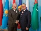 PRESEDINTELE R. MOLDOVA A AVUT O INTREVEDERE CU PRESEDINTELE REPUBLICII BELARUS
