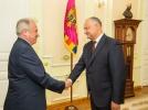 PRESEDINTELE R. MOLDOVA A AVUT O INTREVEDERE CU AMBASADORUL REPUBLICII TURCIA IN TARA NOASTRA
