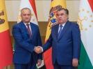 PRESEDINTELE MOLDOVEI A AVUT O INTREVEDERE DE LUCRU CU PRESEDINTELE TADJIKISTANULUI