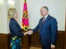PRESEDINTELE R. MOLDOVA A AVUT O INTREVEDERE CU AMBASADORUL EXTRAORDINAR SI PLENIPOTENTIAR AL REGATULUI UNIT
