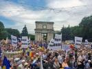 MII DE CETATENI AU PARTICIPAT LA O ACTIUNE DENUMITA MAREA ADUNARE NATIONALA