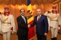 PRESEDINTELE R. MOLDOVA A PRIMIT SCRISORILE DE ACREDITARE DIN PARTEA A TREI AMBASADORI