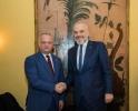 SEFUL STATULUI A AVUT O INTREVEDERE CU PRIM-MINISTRUL ALBANIEI