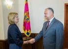 PRESEDINTELE REPUBLICII MOLDOVA A AVUT O INTREVEDERE CU AMBASADORUL MARII BRITANII