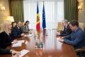 PREMIERUL ION CHICU S-A INTILNIT CU ZDENEK KREJCI, AMBASADORUL REPUBLICII CEHE IN REPUBLICA MOLDOVA