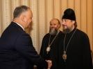 PRESEDINTELE IGOR DODON A DISCUTAT DETALIILE VIZITEI PATRIARHULUI KIRIL IN MOLDOVA