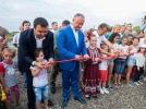 PRESEDINTELE R. MOLDOVA A PARTICIPAT LA INAUGURAREA UNUI COMPLEX SPORTIV DIN ORASUL COMRAT