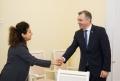 PRIM-MINISTRUL A AVUT O DISCUTIE CU REPREZENTANTUL PERMANENT AL PNUD IN MOLDOVA