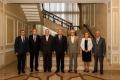 PRESEDINTELE R. MOLDOVA A AVUT O INTREVEDERE CU FOSTII PRESEDINTI, PRIM-MINISTRI SI PRESEDINTI AI PARLAMENTULUI
