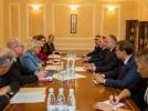 PRESEDINTELE REPUBLICII MOLDOVA A AVUT O INTREVEDERE CU PRESEDINTELE PARLAMENTULUI REGATULUI DANEMARCEI