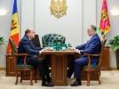 PRESEDINTELE R. MOLDOVA A AVUT O INTREVEDERE CU AMBASADORUL FEDERATIEI RUSE