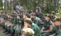 Autoritatile sirbe au inchis o tabara de instruire militara pentru copii