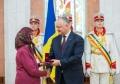 PRESEDINTELE REPUBLICII MOLDOVA A CONFERIT DISTINCTII DE STAT