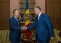 PRESEDINTELE R. MOLDOVA A AVUT O INTREVEDERE CU PRINCIPELE ORDINULUI CRESTIN AL CAVALERILOR DE MALTA